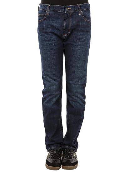 ae34b23fc6 Emporio Armani J45 Slim fit Jeans: Amazon.co.uk: Clothing