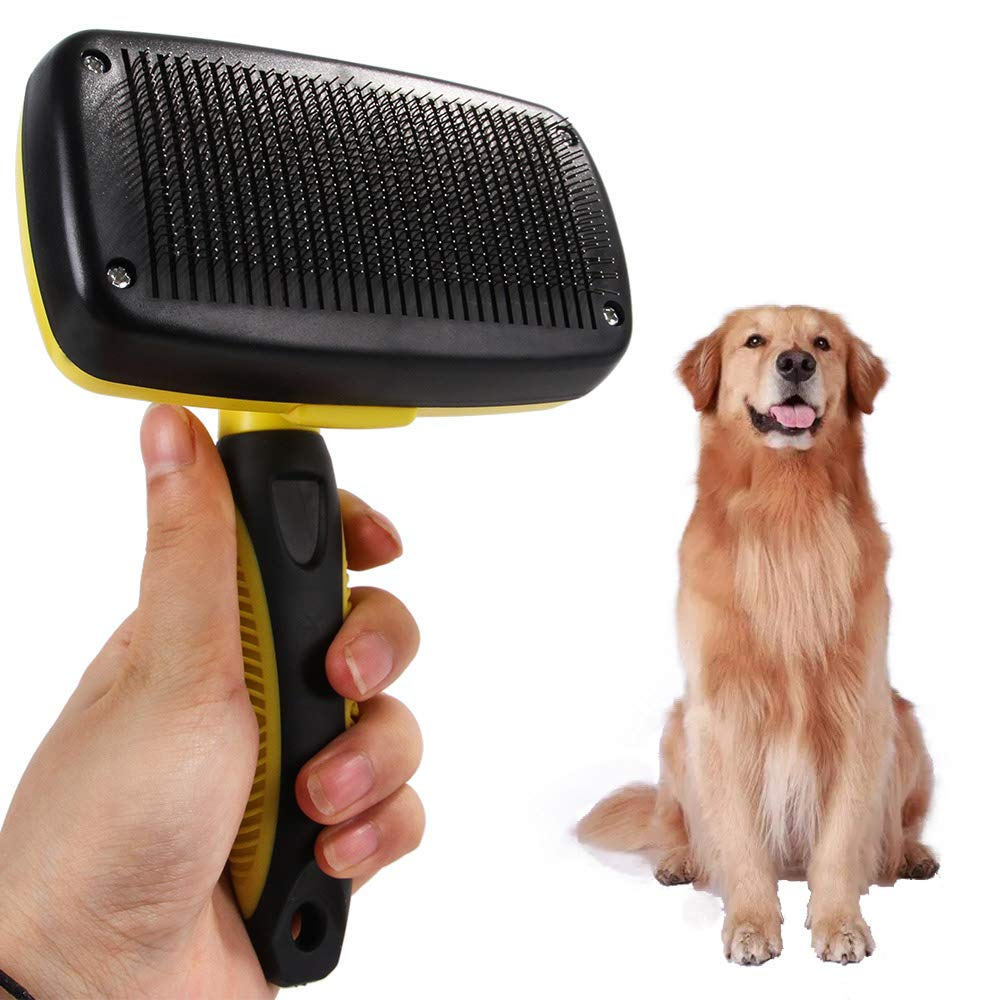 Pet Grooming Tool - Undercoat Rake for Cats & Dogs - Safe Comb for Easy Mats & Tangles Removing - No More Nasty Shedding and Flying Hair Gently Removes Undercoat Knots Mats by FACAI