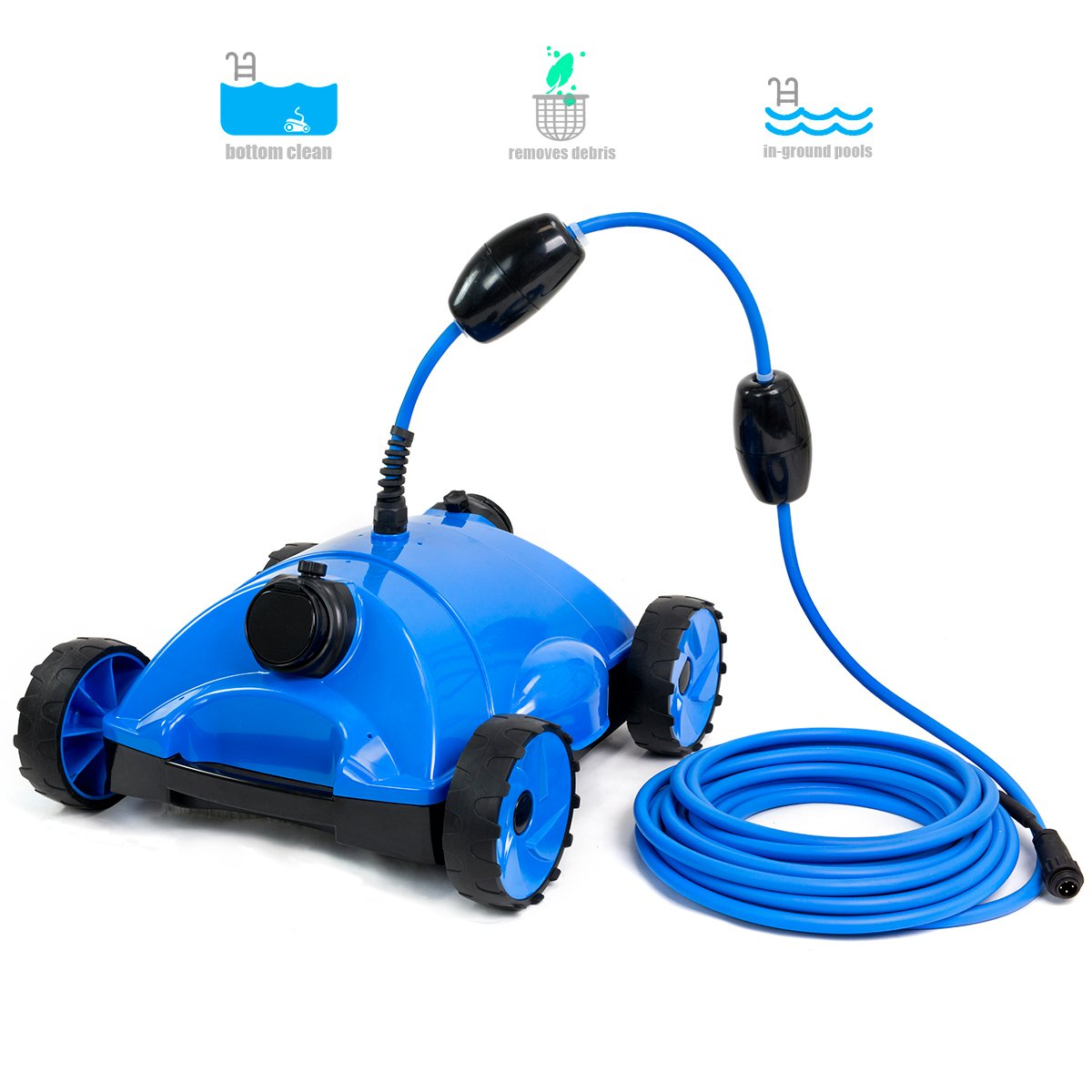 XtremepowerUS Pool Cleaner Floor Vacuum Robotic Style with 43 Feet Swivel Cable by XtremepowerUS
