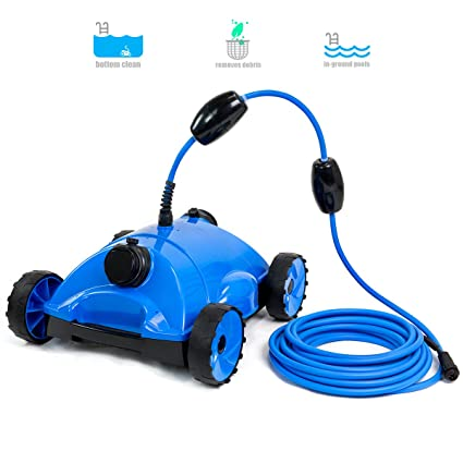 XtremepowerUS Water Bots Above/In Ground Swimming Pool Rover Robotic Floor  Automatic Pool Vacuums Cleaner