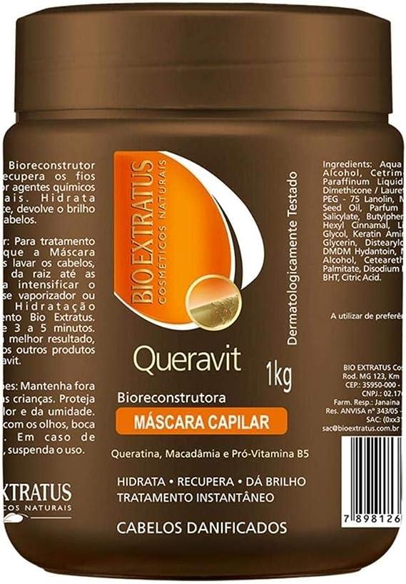 Bio Extratus Máscara Reconstructora Queravit 1Kg