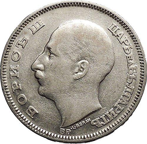 1930 Boris III Tsar of Bulgaria 100 Leva Large European AR Coin i50154