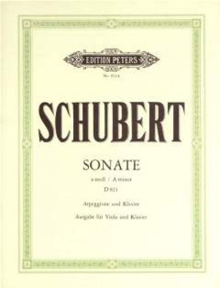 Sonate a-Moll d 821 (Arpeggione). Viola, Klavier