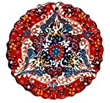 Turkish Ceramics~Hand Painted Ceramic Plate-7
