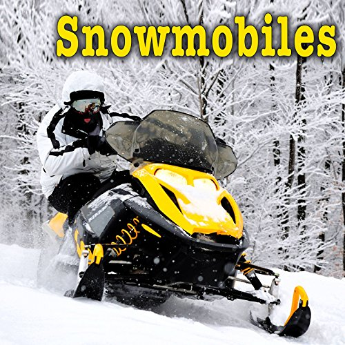 Yamaha V-Max 700 Snowmobile on Board: Pull Starts, Idles, Drives at a Fast Speed, Slows to a Stop & Shuts Off ()