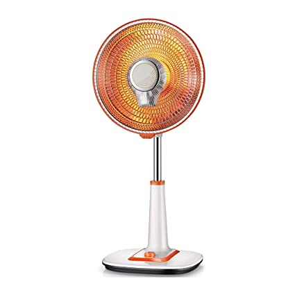 MSNDIAN Calentadores solares pequeños, ahorro de energía en el hogar, calentador eléctrico vertical de