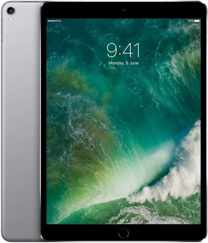 Apple iPad Pro 10.5in (2017) 256GB, Wi-Fi - Space Gray (Renewed)