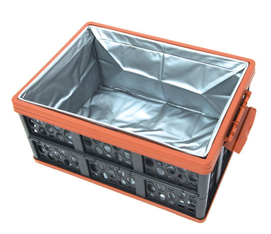 Yeying123 Outdoor Falten Aufbewahrungsbox Camping Eimer Multifunktionale Tank Große Aufbewahrungsbox Auto Finishing Box Kunststoffkorb