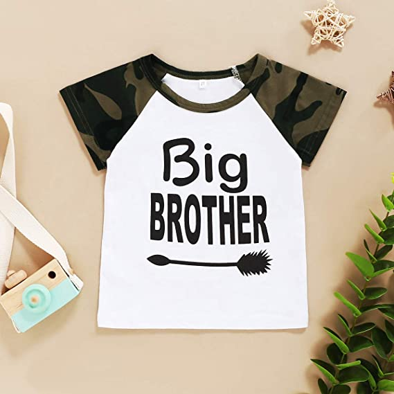 Toddler Big Brother Outfit Little Boys