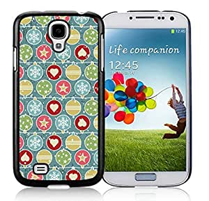 2014 Latest Samsung S4 TPU Protective Skin Cover Christmas Snowflake Black Samsung Galaxy S4 i9500 Case 3