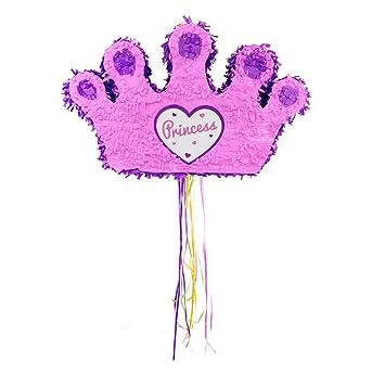 Folat 60923 - Piñata, diseño de Corona de Princesa: Amazon ...