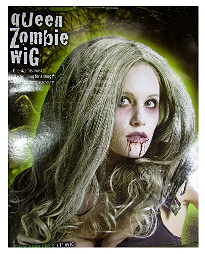 Holiday Times Unlimited Inc Womens Zombie Queen Wig