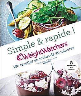 180 Recettes Weight Watchers Express