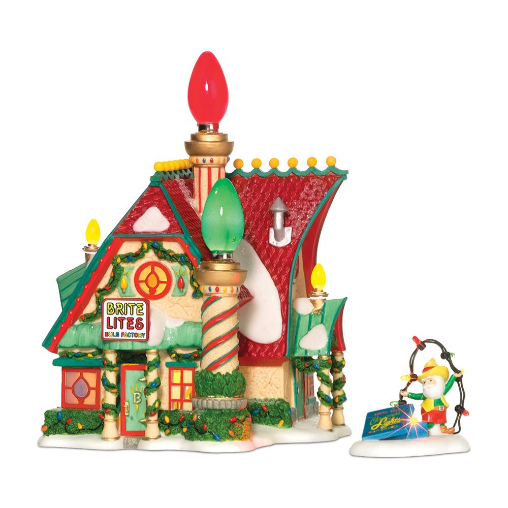 Dept 56 - North Pole Village - Brite Lites Bulb Factory by Department 56 - 799997