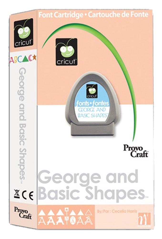 George Cricut Cartridge Provo Craft 29-0025