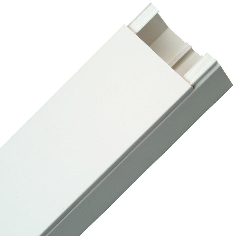 Kopp 399722008 Kabelkanal, 2 m, 120 x 60 mm, weiß: Amazon.de: Baumarkt