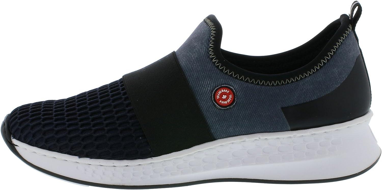 Rieker N5651 Damen Sneaker, Schnürhalbschuhe, Halbschuhe Kb23q