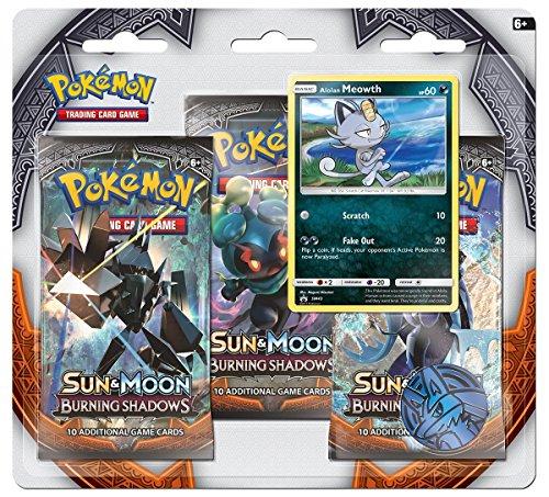 Pokemon Sun & Moon Burning Shadows 3-Booster Blister Pack...