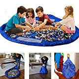 Gr8 Home Large 150cm Tidy Bag Play Mat Rug Portable Kids Toys Organizer Storage Case Pouch Drawstring Organiser