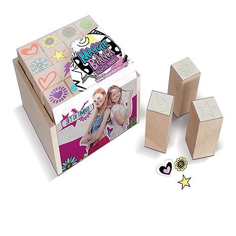 MULTIPRINT Juego de sellos para colorear y Dibujo, 47951: Amazon.es ...