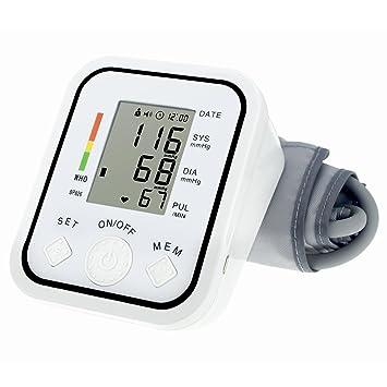 hehilark Tensiómetro, bp826 LCD gráfico a la pantalla Digital BP medición de la presión sanguínea