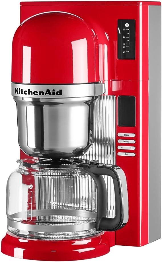 KitchenAid 5KCM0802EER - Cafetera (Independiente, Cafetera de ...