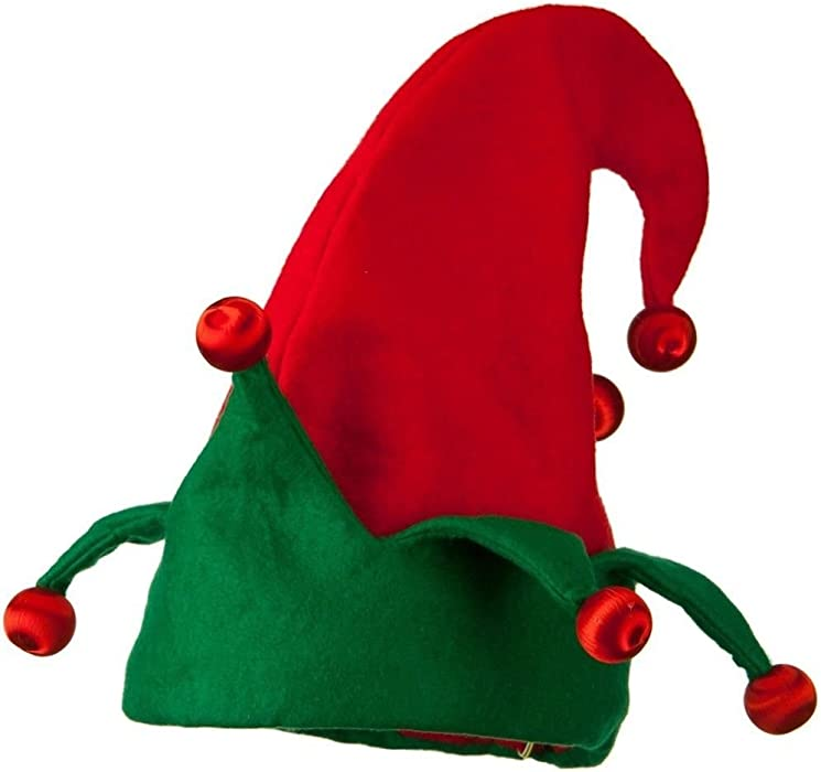 Light Up Elf Shoes Lighted Red Green Santa/'s Helper Christmas Costume Covers