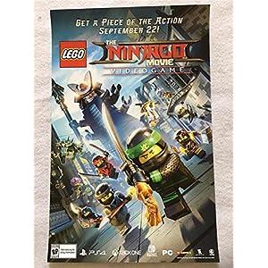 THE NINJAGO MOVIE – 11″x17″ Original Promo Poster SDCC 2017 Lego