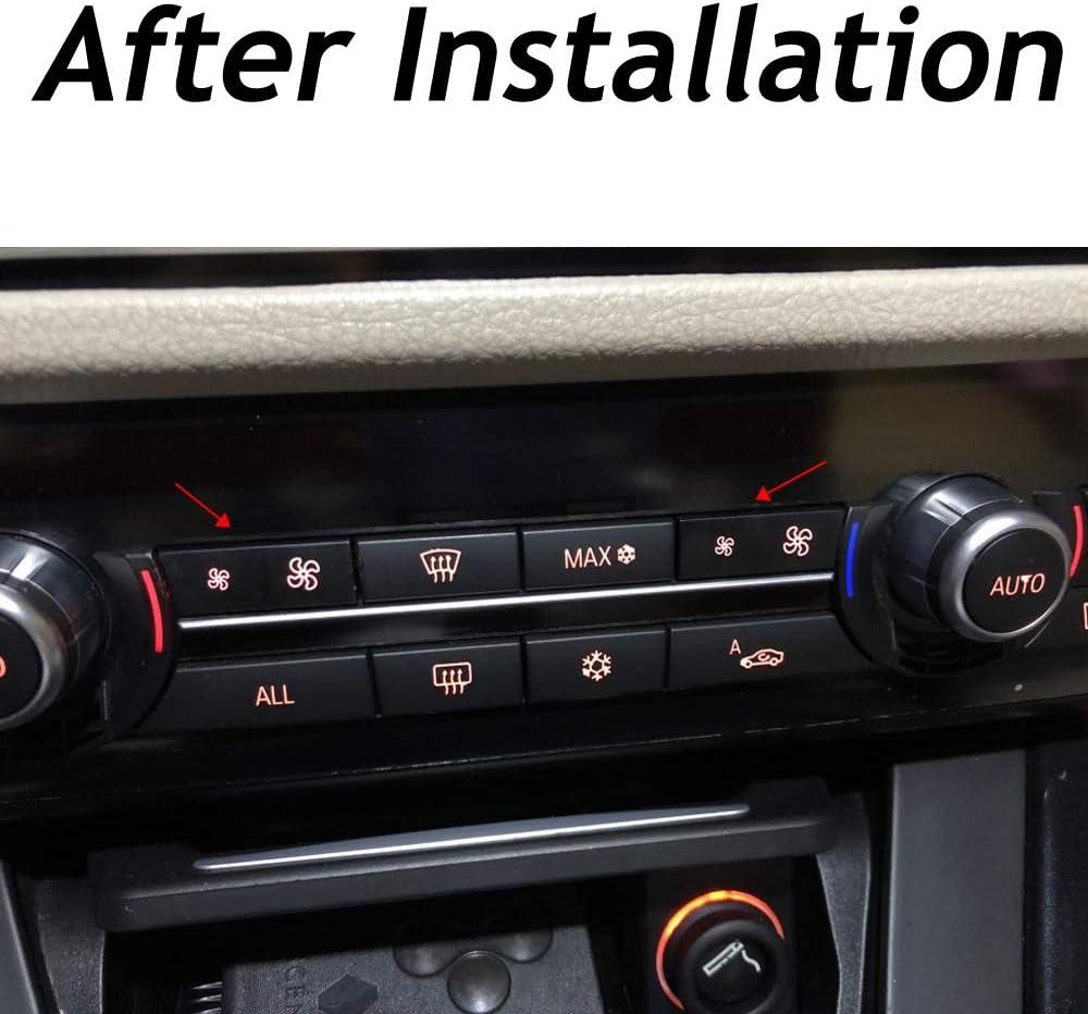 Maxiou - Tapón de botón para ventilador de control de interruptor ...