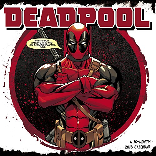 2018 Deadpool Wall Calendar (Day Dream)