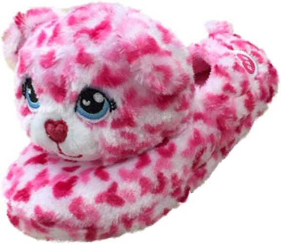 Pink Dream Star Print House Slippers Shoes NEW Build a Bear Teddy Bear Shoes