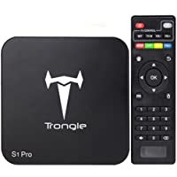[New Arrivals]SEGURO S1PRO Smart TV Box Quad Core Android 6.0 TV Box RK3229 with 1G 8G Wifi Support 4K 10-bit 60fps H.265 Video LAN Miracast Video Display