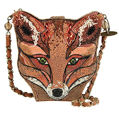 Brown Handbag Mary Fox Sly New Frances Orange Foxy X8Tq7a