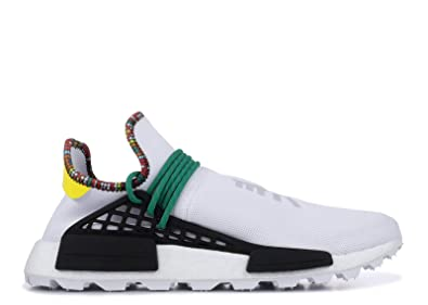 494fa1a455612 Image Unavailable. Image not available for. Color  adidas NMD HU Human Race  Pharrell Williams Inspiration Pack White EE7583 US Size 9