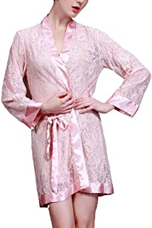 Yasminey Pyjama Court pour Femme Lingerie De Nuit Robe Chaude en Vêtements Chics Gerbe Robe en Maille Lingerie Érotique avec String Robe De Nuit Transparente Lingerie Transparente Pyjama pour Dame