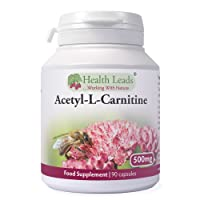 High Quality Acetyl L Carnitine 500mg x 90 capsules (100% Additive Free Supplement)