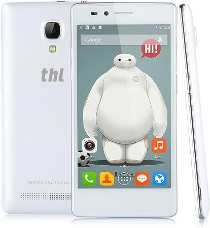 THL T12 - Smartphone 3G Libre Android 4.4 (MT6592M Octa Core, Dual SIM, Pantalla 4.5