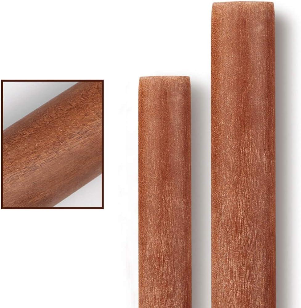 Size : 30cm Chx Legno Mattarello Domestica Dumpling Pelle Cottura Large Size Rod Noodle Stick Piccolo Legno Solido Large Lunghezza