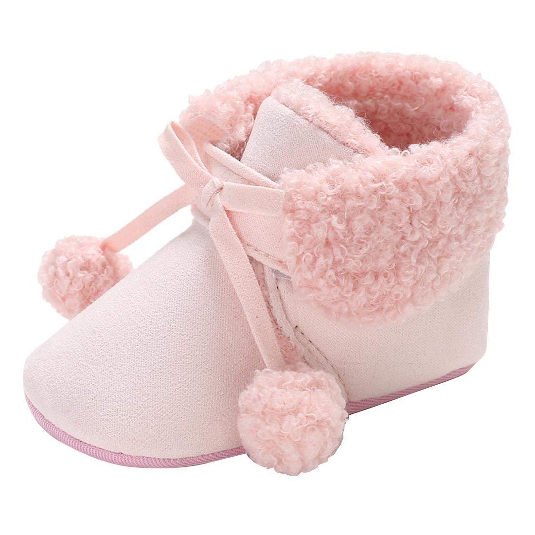 26bfce80451 YIBLBOX Newborn Baby Booties