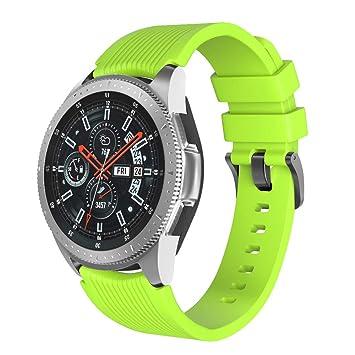 NotoCity Correa para Huawei Watch GT 2/Huawei Watch GT Fashion/Sport/Active/Elegant/Classic,22mm Pulsera de Repuesto de Silicona Banda Ajustable