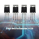 Comidox 5PCS 2SC1969 C1969 TO-220 RF Power