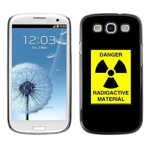 Amazon Stplus Danger Radioactive Symbol Alert Hard Cover Case