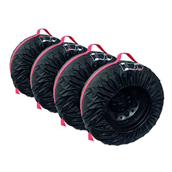 Carpoint 0613011 - Fundas para ruedas (4 unidades): Amazon.es: Coche y moto