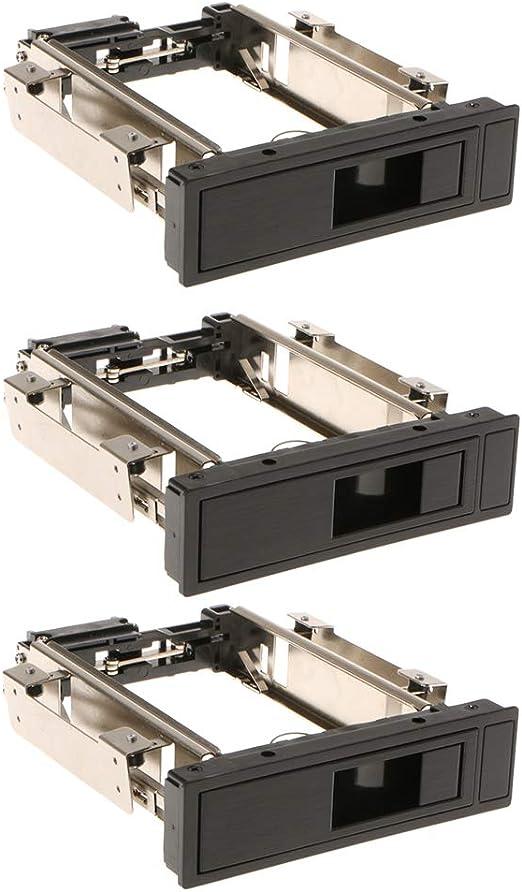 3個 3.5インチSATA HDD ハードディスク モバイルラック トレイ不要 ホットスワップ対応