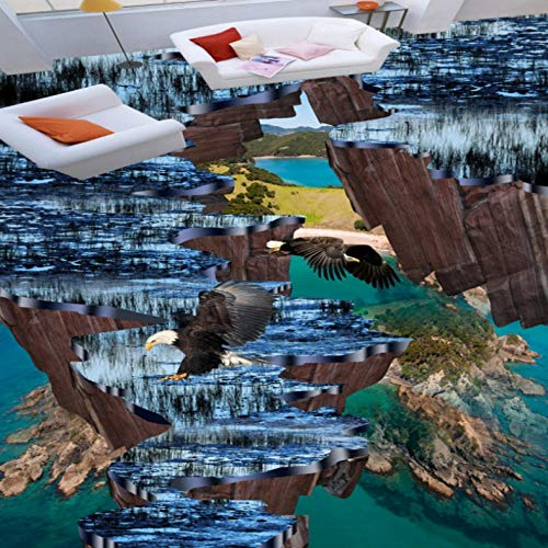 Used, Dalxsh Cliff Island Eagle 3D Stereo Flooring Shopping for sale  Delivered anywhere in Canada