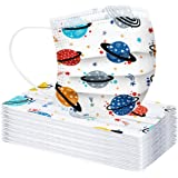Children 3-Ply Cartoon Pattern Face-Másc for Kids, Outdoor Activities, Dust-Proof, Full Face Protection, 10/20/30/40…