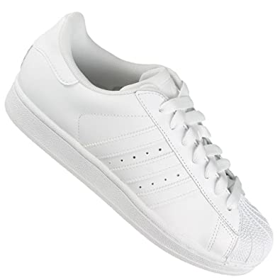60332253ae9c Adidas Originals Superstars II White Leather Trainers Mens Oversize (UK 18  ( EUR 54.5)
