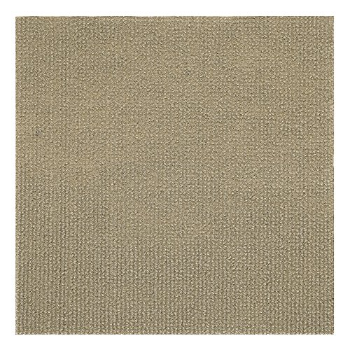 Achim Home Furnishings NXCRPTTN12 Nexus Tan 12 inch x 12 inch Self Adhesive Carpet Floor Tile, 12 Tiles/12 Sq'. by Achim Home Furnishings