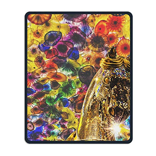 Carnival Niagara Portable Gaming Mouse Pad Comfortable Non-Slip Base Durable Stitched Edges 7.08 X 8.66 Inch, 3mm Thick -