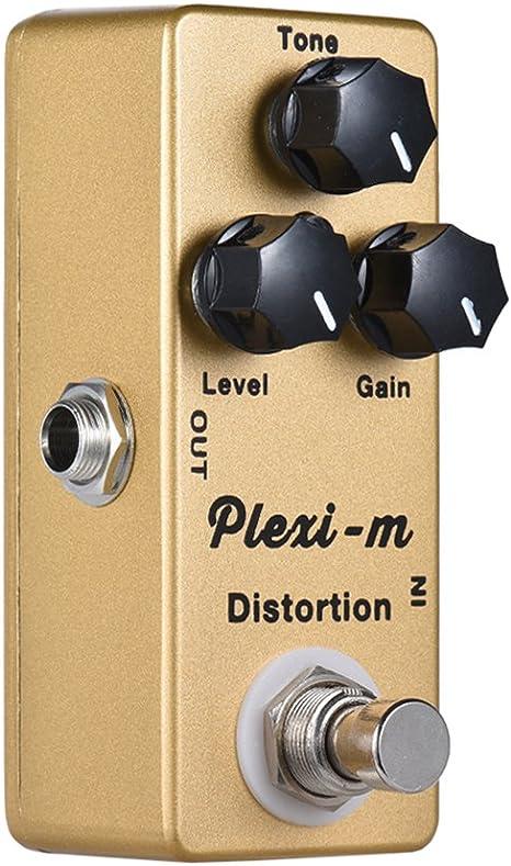 ammoon Pedal de Efectos de Distorsión MOSKY Plexi-m Guitarra ...